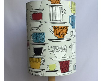 Coffee Cups Tea Cups Extra Tall Lampshade