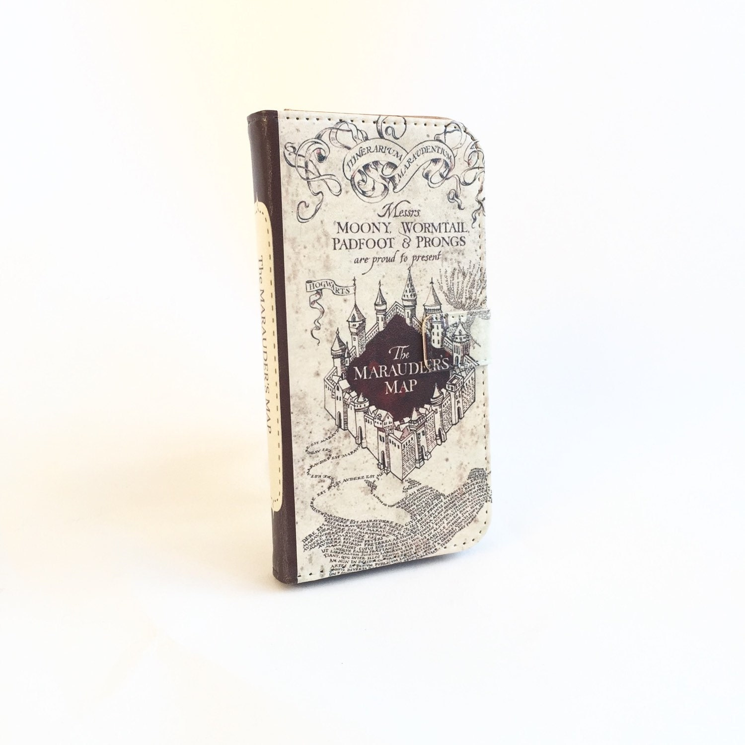 Harry Potter Book Cover Phone Case : Book phone iphone flip wallet case harry potter for