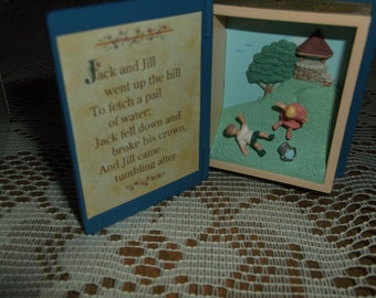 Hallmark 1995 Jack and Jill Mother Goose Collector's Series Ornament