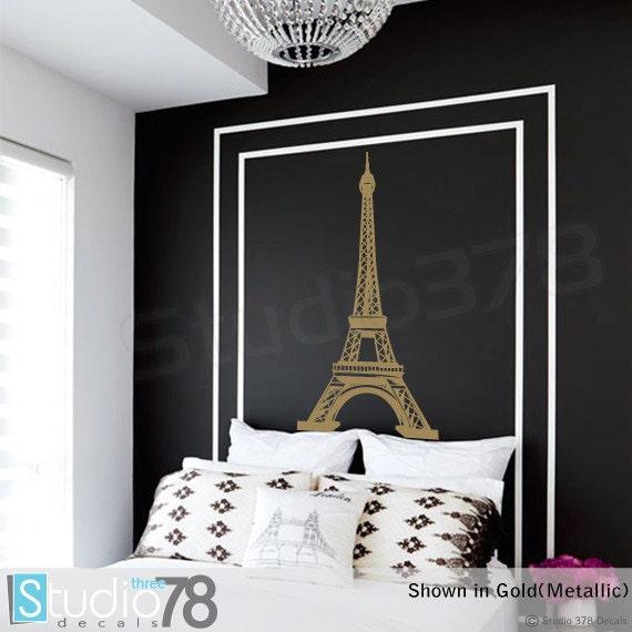 Eiffel Tower Wall Decal Home Decor Paris Wall Decor