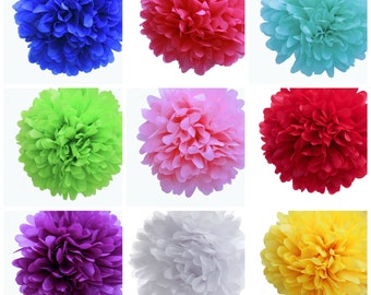 Tissue Paper Pom Pom - 12 inches - Ready to Ship