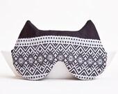 Cat Sleep Mask, Black Mask, travel eye mask