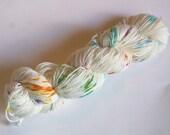 Confetti cake on Max 80/20 SW Merino Nylon Hand dyed fingering weight sock yarn