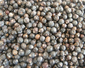 Juniper Berries, Blue, Herbs and Spices, Culinary Spices, Dried Berries