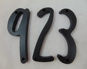 """Metal Numbers with Sue Ellen Francisco Font, 3/8"""" Thick"""