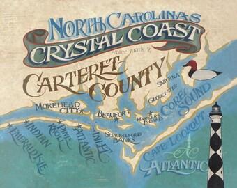 NC Crystal Coast   Print