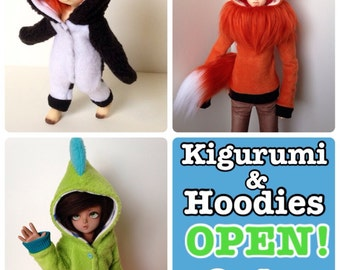 CUSTOM Kigurumi & Hoodies OPEN!