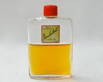 Vintage NONCHALANT by Varva Perfume Eau de Toilette Splash 1 oz Rare 1940s Bottle 60% Full