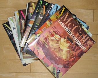 Vintage Cookbooks - 16 McCall's Cookbooks, 1965 Collection, Softcover Books