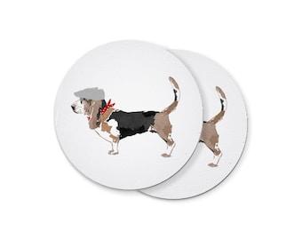 Basset Hound Coasters