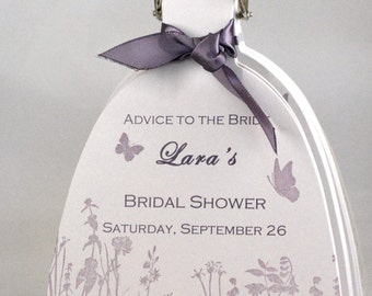 Advice to the Bride Keepsake Book with 10 Pages