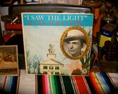 Hank Williams I Saw The Light E3331 Record LP