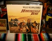 Willie Nelson and Family Honeysuckle Rose S2 36752 Record LP