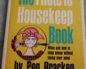 Reserved Listing.Household hints. vintage humor. funny pocketbook. funny paperback. Vintage housewife