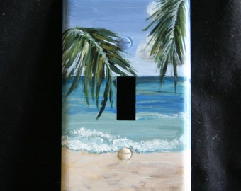 Palm Branches Light Switch Plate