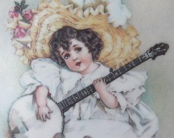 Susanna by Maud Humphrey Bogart Little Ladies Certified Collector Plate 1990 Wall Art Plaque
