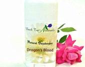 Natural Deodorant - Organic Deodorant Stick with Tea Tree Oil and Organic Coconut Oil - Homemade Deodorant Tube
