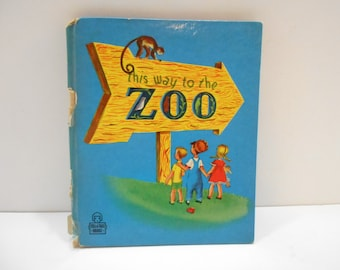 Vintage 1948, Whitman Tell-A-Tale, This Way To The Zoo
