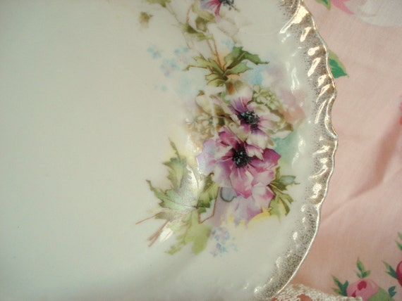 Vintage Wedding Luncheon Plates Salad Plates Shabby Cottage