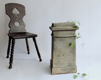 English Chimney Pot from the Rooftops of London. Architectural Salvage. Garden Decor.