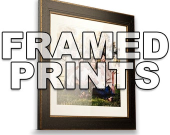 Custom Framing - Add a Frame - Professional Framing - Dozens of Styles