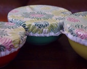 Reusable Bowl Covers Set of Three  Earth-Friendly GraphicMums Heather Bailey