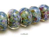 SRA Handcrafted Borosilicate Artisan Lampwork Bead Set - HIDDEN EDEN