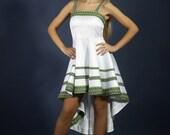 Fashion embroidered dress. Ukrainian Women's dress. Vyshyvanka, Stylish embroidery dress White. Ukrainian wedding dress, Holiday dress