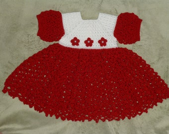 0-3 Month Red Dress