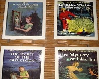 Nancy Drew Coasters (set of 4)