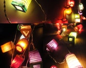 20,35 Chinese Lamp Mix Design Paper Lantern Fairy String Lights Patio Party Wall Floor Wedding Home Decor