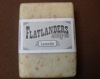 Lavender Handmade Soap - Large