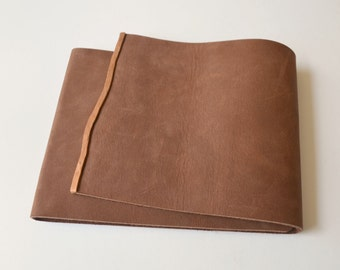 Leather Planner Journal Art Sketchbook Thin Line Notebook Copper Custom Order Journal (509B)