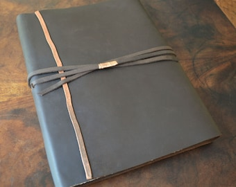 Custom Order Leather Wedding Planner Personal Journal Lined Pages (443)