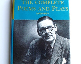 T.S. Eliot, The Complete Poems and Plays, 1909-1950, printed in the US, 1971