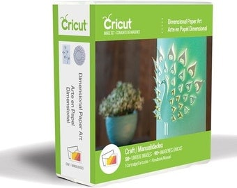 DIMENSIONAL PAPER ART - Cricut Cartridge - New 3D Artwork to cut with your Cricut machine !