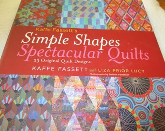 Quilting Book Kaffe Fassett's Simple Shapes Spectacular Quilts