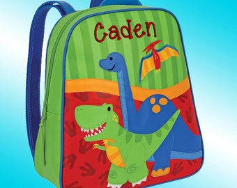 Backpack - Personalized and Embroidered - Go Go Bag - DINOSAURS