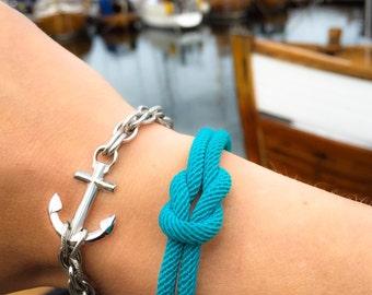 Nautical Waterproof bracelet - Providence in Stainless steel