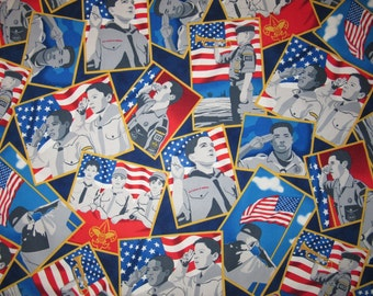 Boy Scouts of America Fabric By The Yard