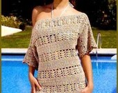 PDF Pattern only - a crochet spring/summer crochet dress