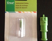 New Cricut cutter blades with used housing
