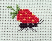 "The scheme for cross stitch ""Happiness ant"""