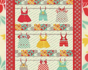 Wash Day Quilt Pattern by Barbara Cherniwchan from Coach House Designs CHD-1231