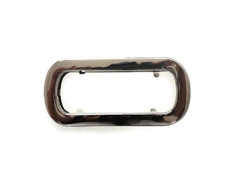 9.5cm (Inner diameter) Silver handbag handle rectangular cut out bag handle a pair - MH03
