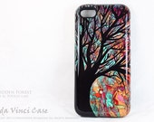 Autumn Tree iPhone 5c Tough Case - Forbidden Forest - Artistic iPhone 5c Case With Autumn Color Art