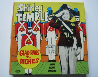 "Shirley Temple ""Glad Rags to Riches"", 8 mm Movie # 223, 1950s"