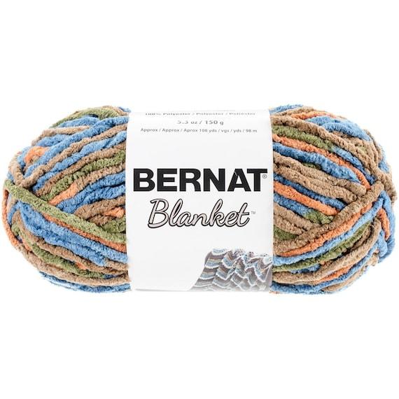 Bernat Blanket Yarn In Cozy Cabin 150 Gram Skein