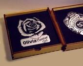 Ring Security and Flower Girl Badge - Wedding Keepsakes for the Ring Bearer and Flower Girl