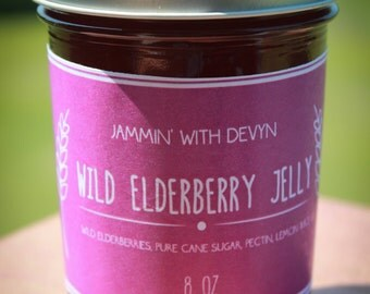 Old Fashioned Wild Elderberry Jelly